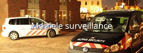 Beveiligingsdiensten - Mobiele surveillance