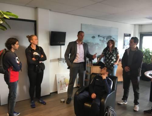 Track the Talent Haarlem op bezoek bij Alpha Security