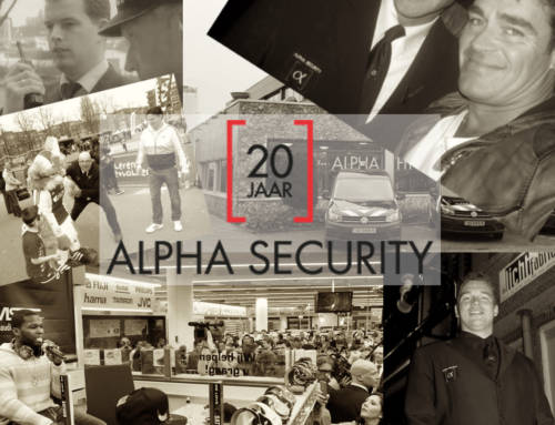 Alpha Security 20 jaar!
