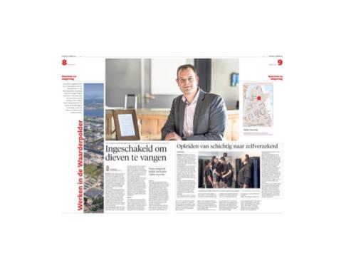 Interview met Peter Hoes in Haarlems Dagblad