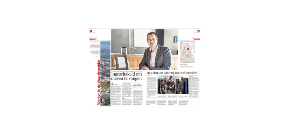 Peter Hoes - Directeur Alpha Security Haarlem